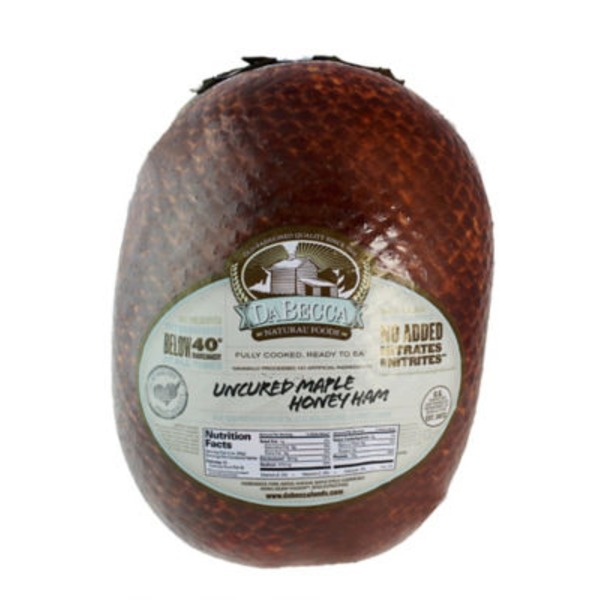 Dabecca Natural Foods Smoked Maple Ham