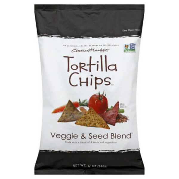 Central Market Veggie & Seed Blend Tortilla Chips