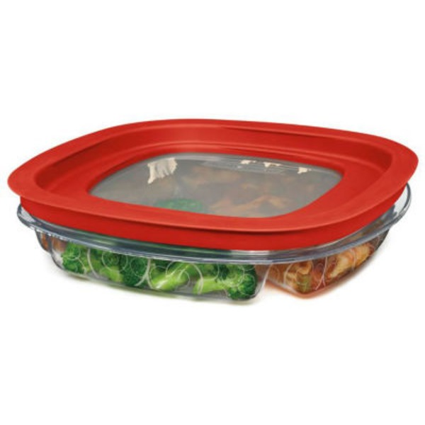Rubbermaid Take A Longs Divided Snacker Storage Container