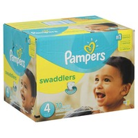 Pampers Swadlers Pampers Swaddlers Diapers Size 4 70 count Diapers