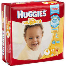 Huggies Little Snugglers Diapers Jumbo Pack Size 4