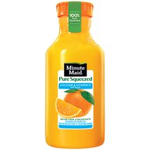 Minute Maid Pure Squeezed Calcium & Vitamin D Orange Juice without Pulp