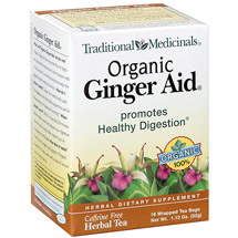 Traditional Medicinals Organic Ginger Aid Herbal Tea Bags