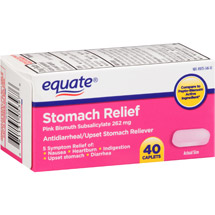 Equate Stomach Relief Caplets