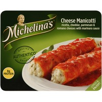 Michelina's Authentico Cheese Manicotti