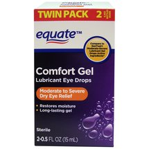Equate Comfort Gel Lubricant Eye Drops