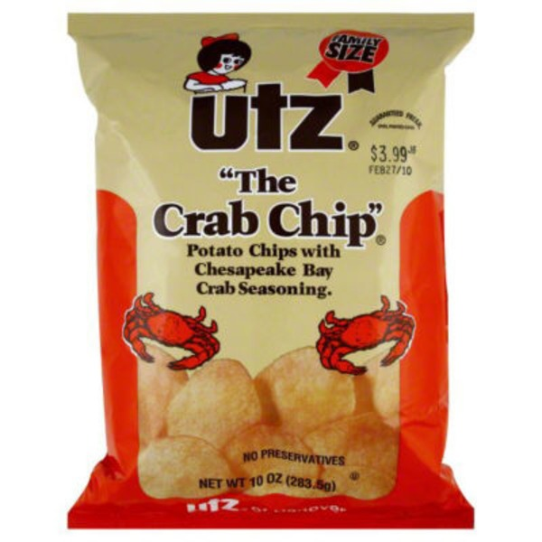 Utz The Crab Chip
