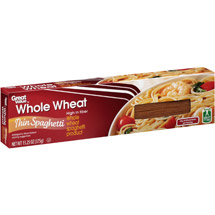 Great Value Whole Wheat Thin Spaghetti Pasta