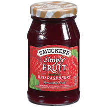 Smucker's Simply Fruit Red Raspberry Seedless Spreadable Fruit