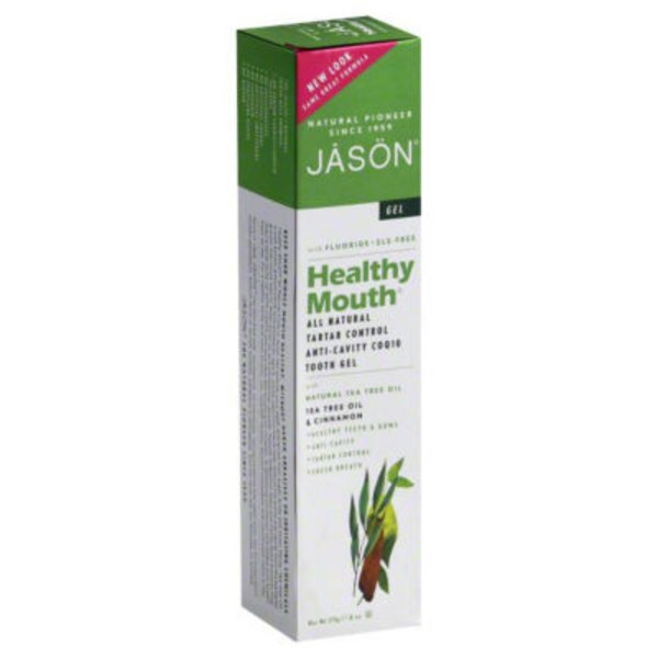 Jason Healthy Mouth Anti-Cavity & Tartar Control Tea Tree Oil & Cinnamon