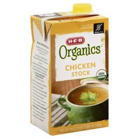 H-E-B Organics Chicken Stock