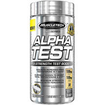 MuscleTech Pro Series AlphaTest Rapid-Release Dietary Supplement Capsules