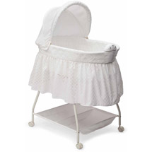 Delta Children Sweet Beginnings Bassinet Turtle Dove
