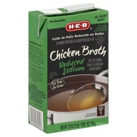 H-E-B Reduced Sodium Chicken Broth