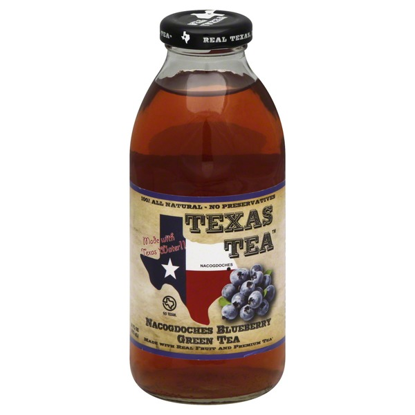Texas Tea Tea, Green, Nacogdoches Blueberry