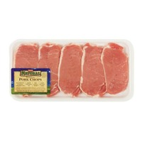 H-E-B Natural Boneless Pork Center Loin Chops