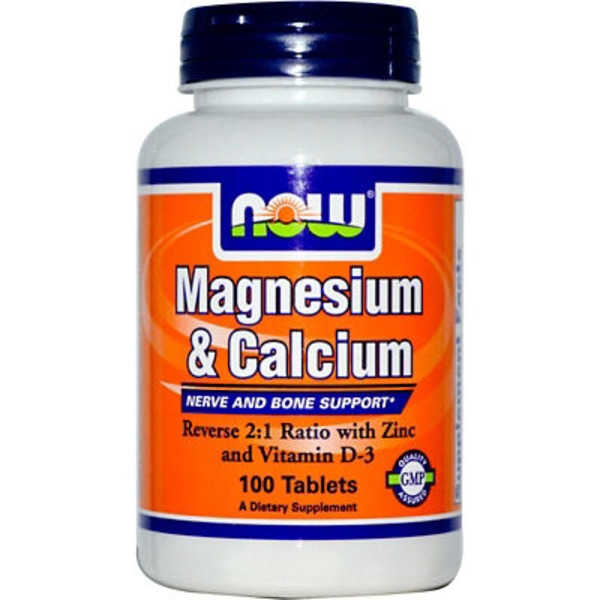 Now Magnesium & Calcium Tablets