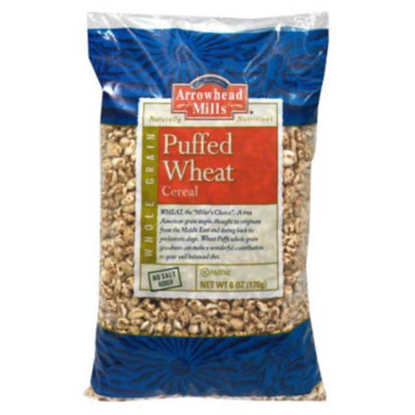 Arrowhead Mills Natural Puffed Wheat Cereal