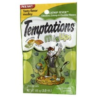 Temptations MixUps Catnip Fever Cat Snacks & Treats