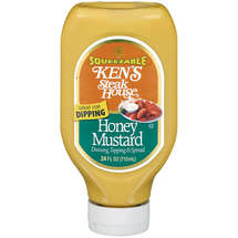 Kens Steak House Honey Mustard Dressing Topping & Spread