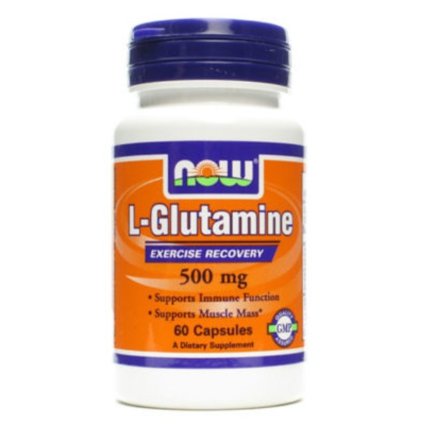 Now L Glutamine 500 Mg