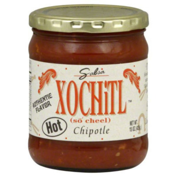 Xochitl Salsa, Chipotle, Hot, Jar