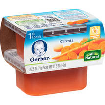 Gerber 1st Foods Carrots Baby Food