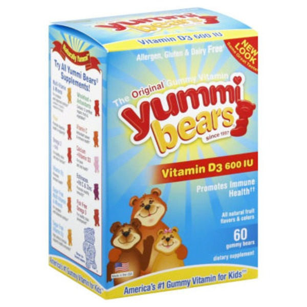 Hero Nutritionals Vitamin D3 Yummi Bears