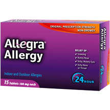 Allegra Allergy 24 Hour Relief