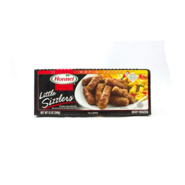 Hormel Little Sizzlers Pork Hot & Spicy Flavored With Tabasco