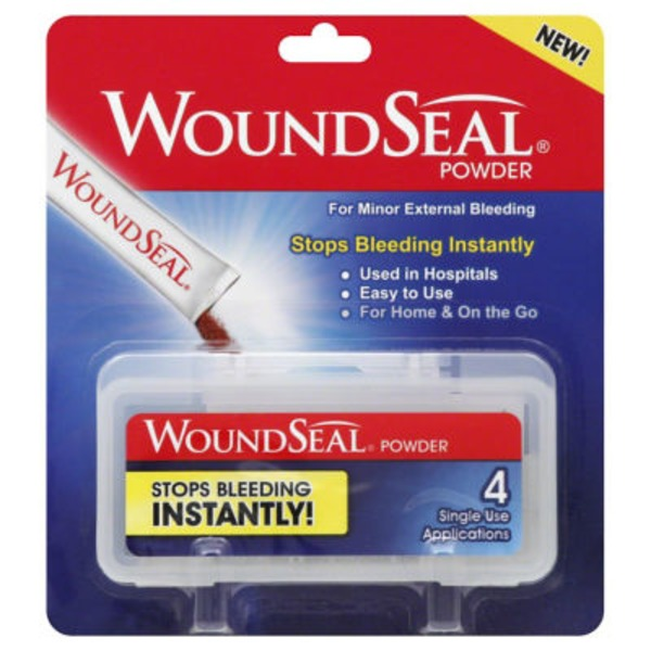 WoundSeal Topical Powder, Single Use Applications