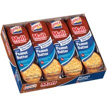 Lance Malt Real Peanut Butter Sandwich Crackers
