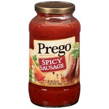 Prego Spicy Sausage Meat Sauce