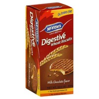McVities Digestive Milk Chocolate Flavor Wheat Biscuits