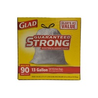 Glad Tall Kitchen Drawstring Bags, 13 Gallon