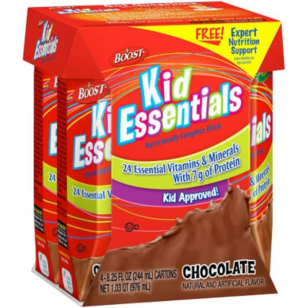 Boost Kid Essentials Chocolate Nutritionally Complete Drink