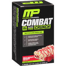 Combat Crunch White Chocolate Raspberry Baked Protein Bars