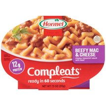 Hormel Compleats Beefy Mac & Cheese