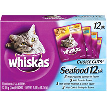 Whiskas Choice Cuts Poached Variety Pack