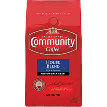 Community House Blend Medium-Dark Roast Ground Coffee