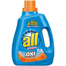 All with Stainlifters Oxi Laundry Liquid Detergent