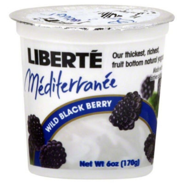Liberté Mediterranee Blackberry Yogurt