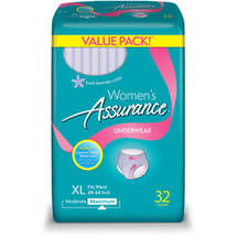 Assurance for Women Maximum Absorbency Protective Underwear Extra Large