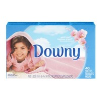 Downy April Fresh Fabric Softener Dryer sheets 40 count Fabric Enhancers
