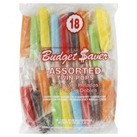 Budget Saver Twin Pops, Assorted