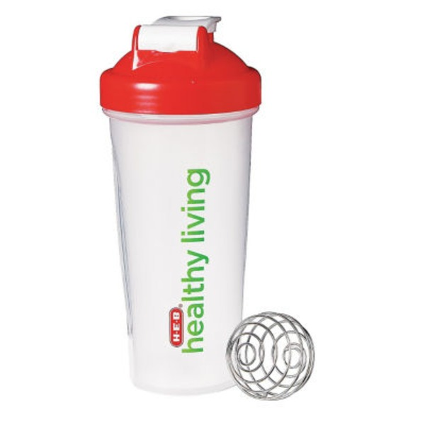 H-E-B Healthy Living Blender Bottle Shaker Bottle