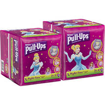 Huggies Pull-Ups Girls' Night-Time Training Pants 2T-3T