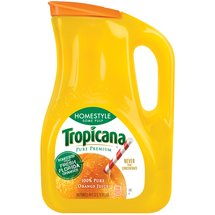 Tropicana Pure Premium Homestyle Some Pulp 100% Orange Juice