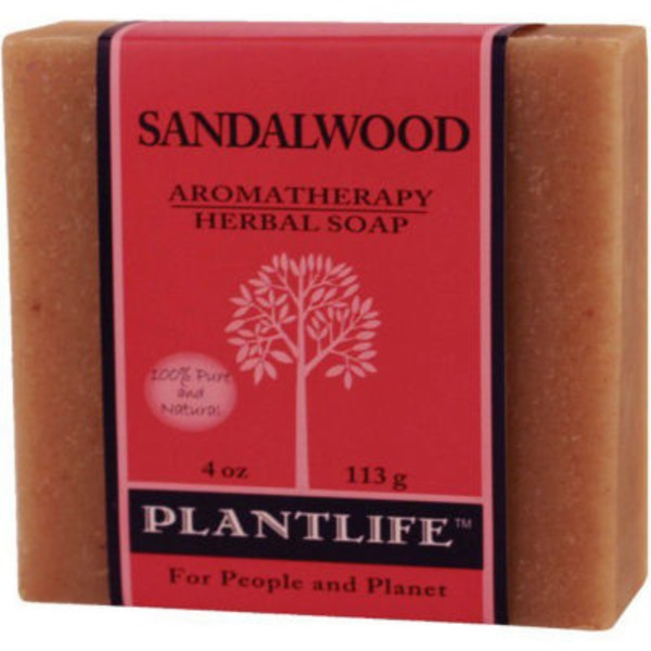 Plantlife Sandalwood Aromatherapy Herbal Soap