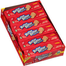 Nabisco Nutter Butter Peanut Butter Sandwich Cookies Packs 2 Go! Single Serve